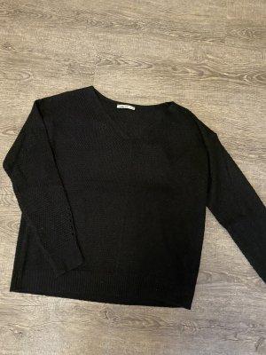 Hailys Maglione lavorato a maglia nero