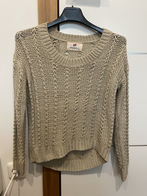 Springfield Knitted Sweater beige