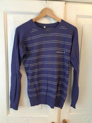 Iriedaily Knitted Sweater dark violet-light grey mixture fibre