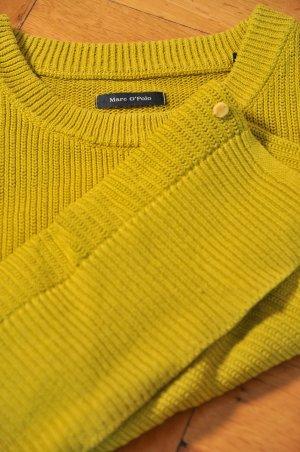 Strickpullover von Marc o´ Polo in gelb/senfgelb