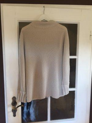 Olsen Pullover a maglia grossa beige chiaro-grigio chiaro