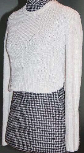 Strickpullover von Zara knit, weiss, Gr. S