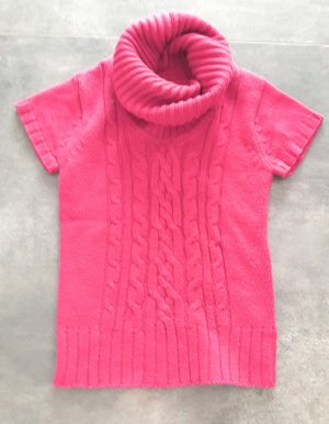 Urban Surface Fine Knitted Cardigan magenta