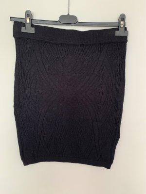 Amisu Gebreide rok zwart