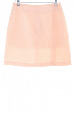 Knitted Skirt apricot casual look