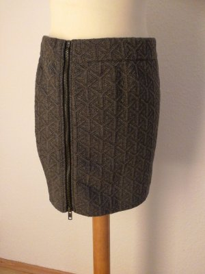 Broadway Knitted Skirt dark grey