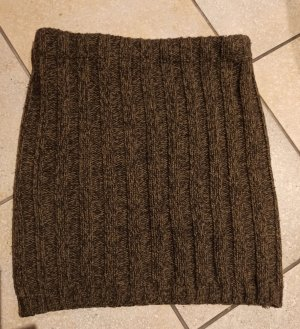 Only Knitted Skirt brown