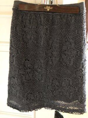 Daniel & Mayer Pencil Skirt grey wool