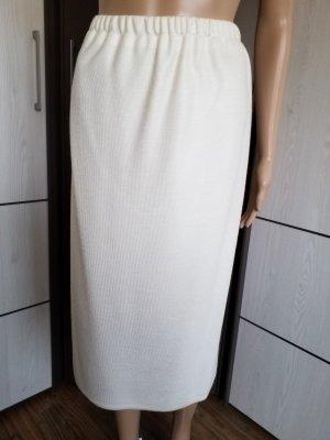 Knitted Skirt natural white