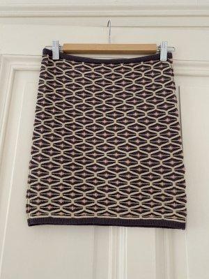 Missoni Knitted Skirt sand brown-grey violet