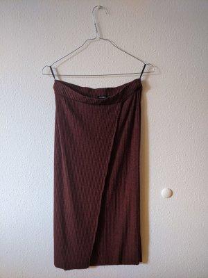 Strickrock / Schlauchrock mit hoher Taille