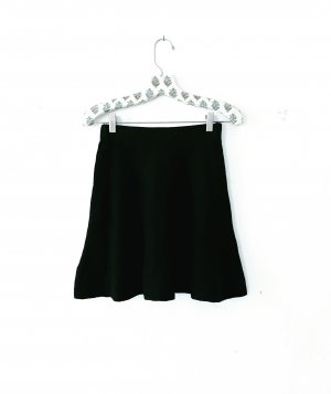 Vintage Knitted Skirt black