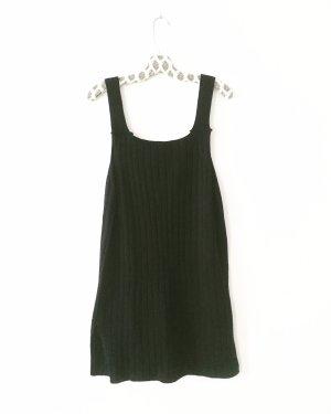 Vintage Gebreide rok zwart
