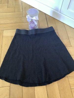 Orsay Falda de punto negro