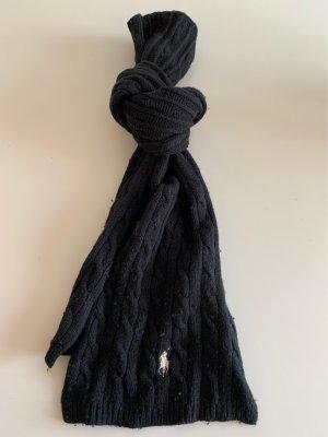 Ralph Lauren Knitted Scarf black