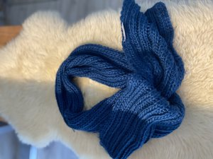 bpc bonprix collection Knitted Scarf petrol