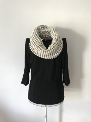 Gap Knitted Scarf white-grey brown