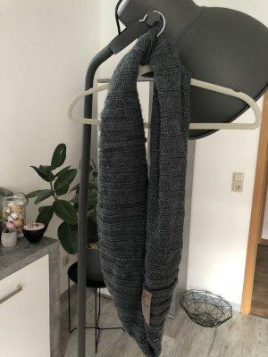 Barts Gebreide sjaal donkergrijs-antraciet