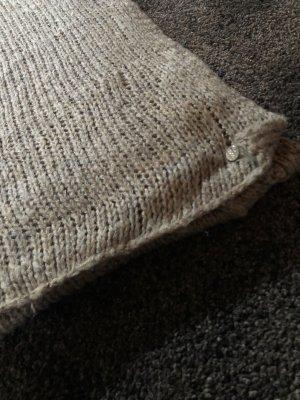 Esprit Gebreide sjaal grijs-bruin-taupe