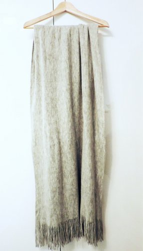 H&M Knitted Scarf silver-colored-grey