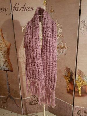 Bijou Brigitte Fringed Scarf dusky pink-lilac