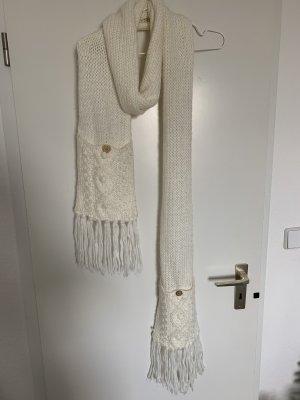 Bijou Brigitte Écharpe en laine blanc cassé