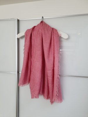 Roeckl Knitted Scarf pink modal fibre