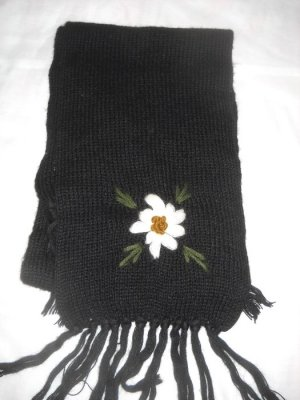 Knitted Scarf multicolored