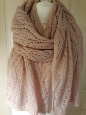 keine Marke Knitted Scarf pink-light pink