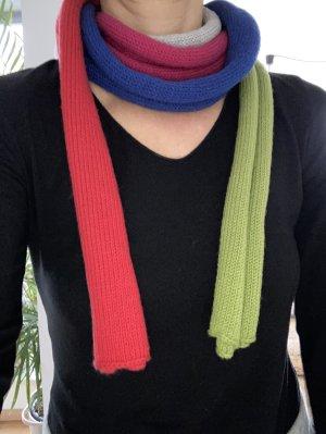 Bufanda de punto multicolor Algodón