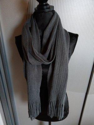 Knitted Scarf dark grey