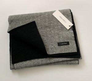 Calvin Klein Jeans Gebreide sjaal lichtgrijs-zwart