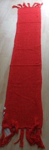 Codello Bufanda de punto rojo