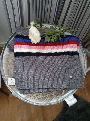 Esprit Sciarpa lavorata a maglia grigio-rosa