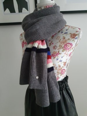 Esprit Knitted Scarf grey-pink