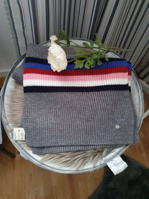Esprit Gebreide sjaal grijs-roze