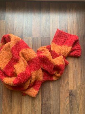 Esprit Bufanda de lana naranja-rojo