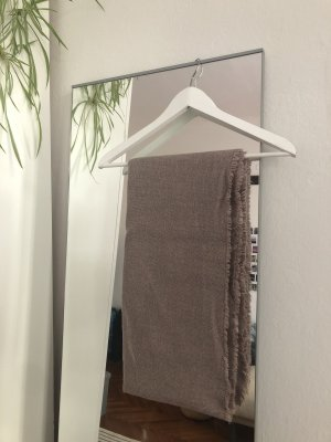 H&M Basic Écharpe en tricot mauve-gris lilas