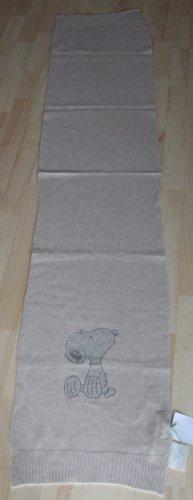 Strickschal Wollschal von Codello – Snoopy - Strass