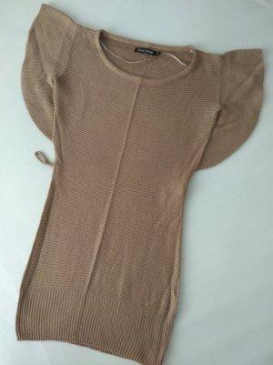 one love Camicia maglia marrone
