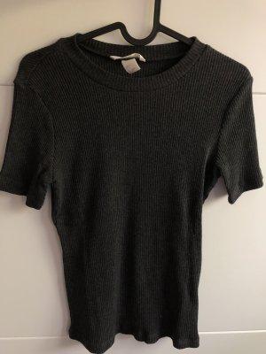 Strickshirt grau H&M