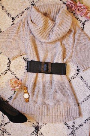 Blind Date Maglione dolcevita beige chiaro-beige