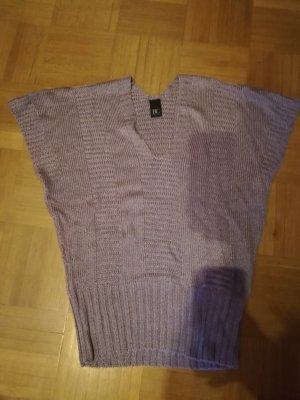 Strickshirt, Shirt, lila, Größe 44