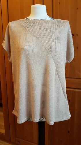 Takko Camicia maglia oro-crema