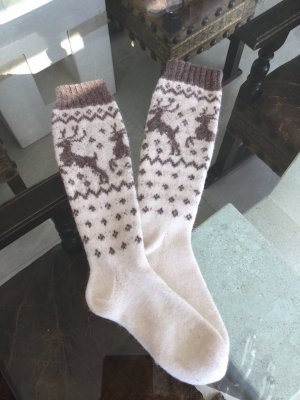 Stricksocken, lang, 39