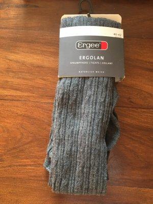 Energee Pantalone di lana grigio scuro