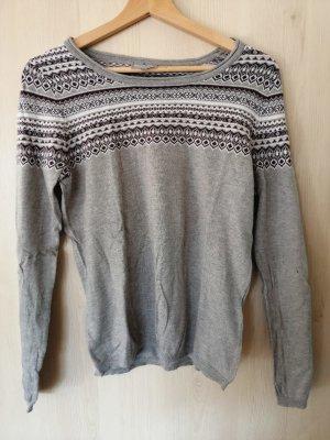 Blue Motion Maglione lavorato a maglia grigio chiaro-lilla