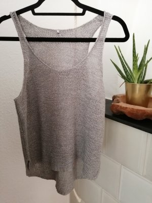 Only Knitted Top light grey
