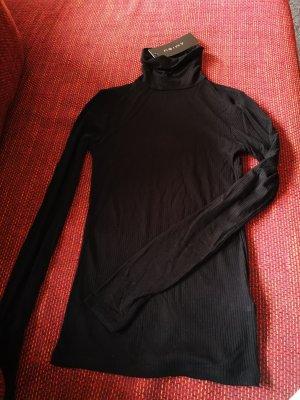Amisu Gebreide top zwart