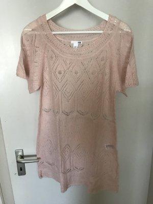 H&M Gebreide top lichtroze-roze Wol